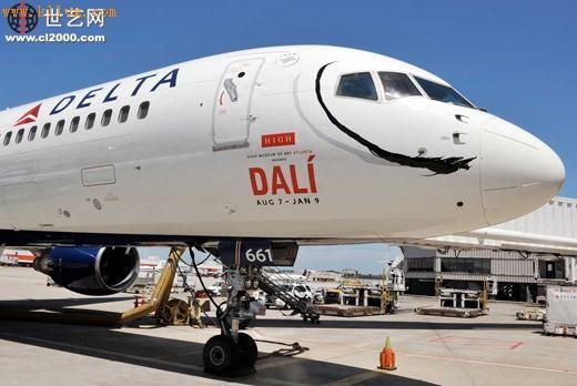 达美航空公司飞机