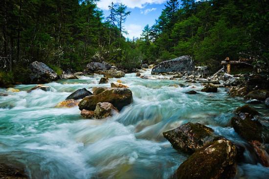 风景图片 自然风景图片 自然风景图片 >> 正文  tibet tour之甘孜稻城